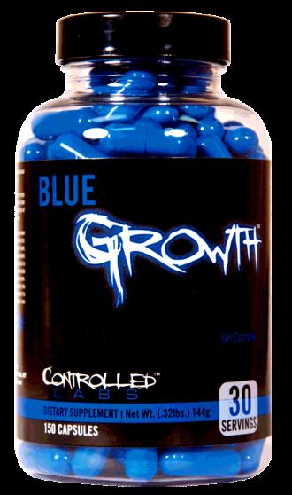 БЛУ ГРОУТ капс. 150бр КОНТРОЛД ЛАБС | BLUE GROWTH caps 150s CONTROLLED LABS