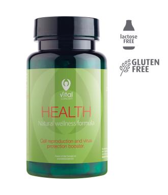 ХЕЛТ 60 растителни капсули ВИТАЛ КОНЦЕПТ | HEALTH 60 veg caps VITAL CONCEPT