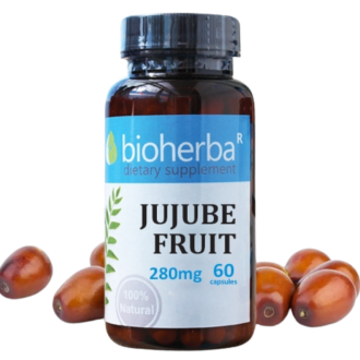 ХИНАП ПЛОД 280мг 60 капс. БИОХЕРБА | JUJUBE FRUIT 280mg 60 caps. BIOHERBA