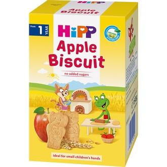ХИП БИО Детски бисквитки с ябълка 1г+ 120гр   HIPP BIO Apple biscuit 1y+ 120g