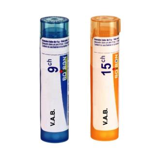 ВАБ 9CH, 15CH гранули 4гр. БОАРОН | V.A.B. 9CH, 15CH pillules 4g BOIRON