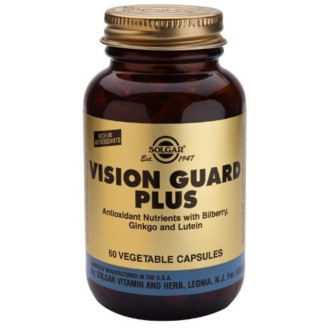 ВИЖЪН ГАРД ПЛЮС раст. капс 60бр СОЛГАР | VISION GUARD PLUS veg caps 60s SOLGAR
