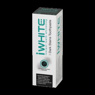 АЙ УАЙТ ДАРК СТЕЙНС Избелваща паста за зъби с активен въглен 75мл | IWHITE DARK STAINS Toothpaste instant teeth whitening 75ml