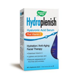 ХИДРАПЛЕНИШ с Витамин Ц (65% хиалуронова киселина) серум 30мл. НЕЙЧЪР'С УЕЙ | HYDRAPLENISH with Vitamin c (65% hyaluronic acid) serum 30ml NATURE'S WAY