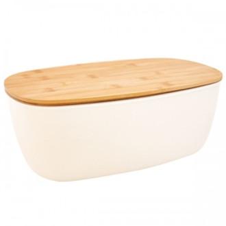 ЕКО КУТИЯ ОТ БАМБУК За съхранение на хляб БАЛЕВ БИО | ECO BAMBOO BREAD BOX BALEV BIO