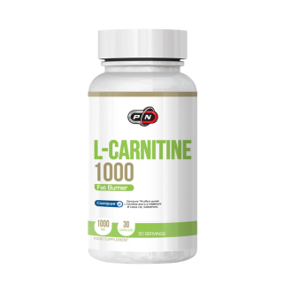 Л-КАРНИТИН 1000мг 30 капсули ПЮР НУТРИШЪН | L-CARNITINE 1000mg 30 caps PURE NUTRITION