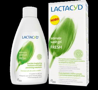 ЛАКТАЦИД ФРЕШ Интимен измивен гел 200мл | LACTACYD FRESH Intimate wash gel 200ml