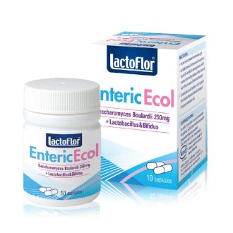 ЛАКТОФЛОР Ентерик Екол капсули 10бр. КЕНДИ | LACTOFLOR Enteric Ecol capsules 10s KENDY