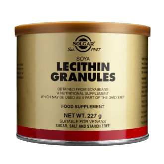 ЛЕЦИТИН гранули 227гр СОЛГАР | LECITHIN granules 227gr SOLGAR