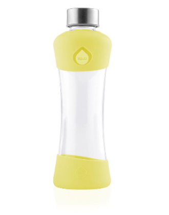 ЕКУА Еко бутилка ЛИМОН стъкло 550мл | EQUA Eco bottle LEMON glass 550ml