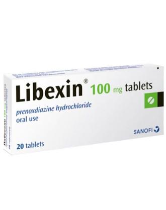ЛИБЕКСИН 100мг. таблетки 20бр.   LIBEXIN 100mg tablets 20s