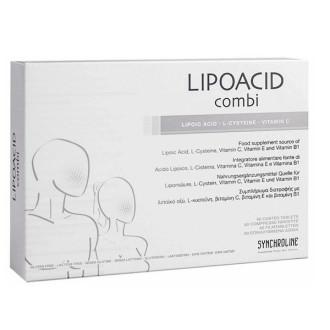 ЛИПОАЦИД КОМБИ таблетки х 30бр СИНХРОЛАЙН | LIPOACID COMBI tablets 30s SYNCHROLINE