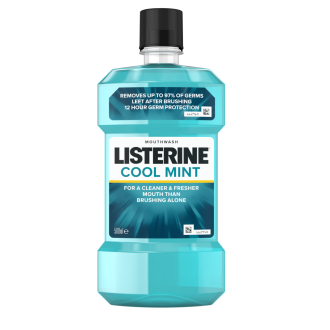 ЛИСТЕРИН Вода за уста КУУЛ МИНТ 250мл, 500мл или 1л | LISTERINE Mouthwash COOL MINT 250ml, 500ml or 1l