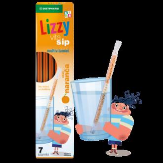 ЛИЗИ ВИТА СИП Сламки с Мултивитамини за деца 7бр | LIZZY VITA SIP Straws with Multivitamins for children 7s