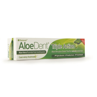 ОПТИМА АЛОЕДЕНТ Паста за зъби с тройно действие 100мл | OPTIMA ALOEDENT Toothpaste triple action 100ml