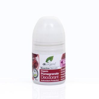 Д-Р ОРГАНИК Нар дезодорант рол-он 50мл | DR ORGANIC Pomegranate deodorant roll-on 50ml