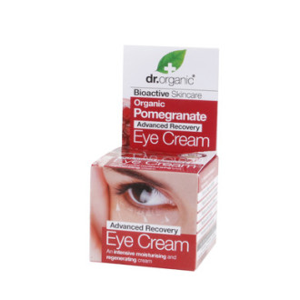 Д-Р ОРГАНИК Нар околоочен крем 15мл | DR ORGANIC Pomegranate eye cream 15ml