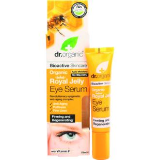 Д-Р ОРГАНИК Пчелно млечице околоочен серум 15мл | DR ORGANIC Royal jelly eye serum 15ml