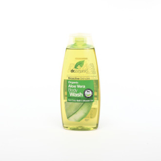 Д-Р ОРГАНИК Алое вера душ гел 250мл | DR ORGANIC Aloe vera body wash 250ml