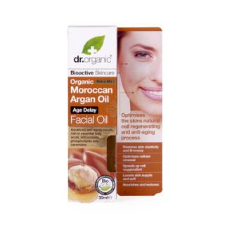 Д-Р ОРГАНИК Арганово масло олио за лице 30мл | DR ORGANIC Argan oil facial oil 30ml
