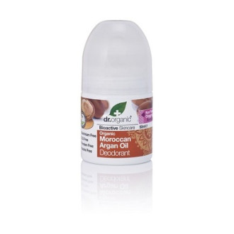 Д-Р ОРГАНИК Арганово масло дезодорант рол-он 50мл | DR ORGANIC Argan oil deodorant roll-on 50ml