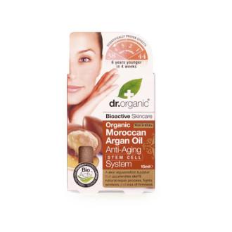 Д-Р ОРГАНИК Арганово масло противостарееща система 30мл | DR ORGANIC Argan oil anti-aging stem cell system 30ml