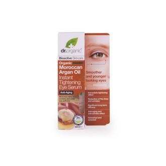Д-Р ОРГАНИК Арганово масло околоочен серум 30мл | DR ORGANIC Argan oil instant tightening eye serum 30ml