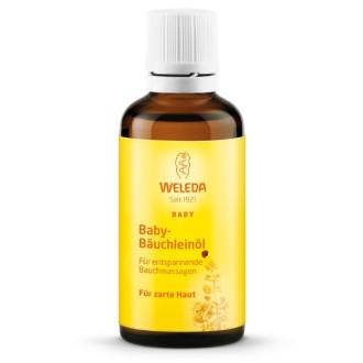 ВЕЛЕДА Масажно масло за коремчето на бебето 50мл | WELEDA Baby bäuchleinöl 50ml