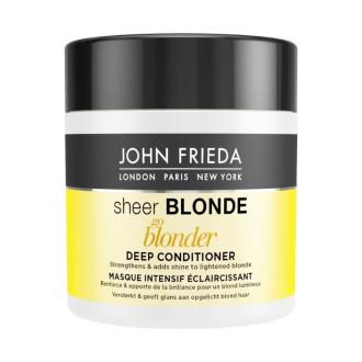 ДЖОН ФРИДА ШИР БЛОНД Изсветляваща маска за руса коса 150мл | JOHN FRIEDA SHEER BLONDE GO BLONDER Lightening deep conditioner 150ml