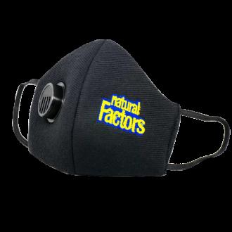 МАСКА ЗА ЛИЦЕ, Предпазна, за многократна употреба, с клапан НАТУРАЛ ФАКТОРС | PROTECTIVE FACE MASK with valve NATURAL FACTORS