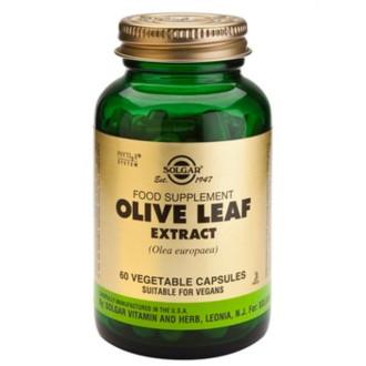 ЕКСТРАКТ ОТ МАСЛИНОВИ ЛИСТА растителни капсули 60бр. СОЛГАР | OLIVE LEAF EXTRACT veg. caps. 60s SOLGAR