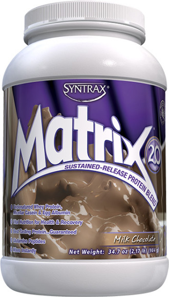 МАТРИКС 2.0 – МЛЕЧЕН ШОКОЛАД прах 984г СИНТРАКС | MATRIX 2.0 – MILK CHOCOLATE pwd 984g SYNTRAX