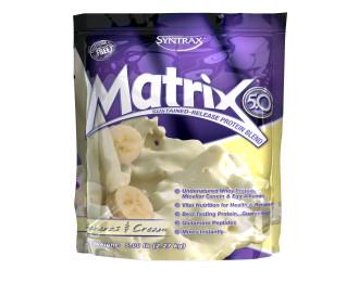 МАТРИКС 5.0 – БАНАН И СМЕТАНА прах 2.27кг СИНТРАКС | MATRIX 5.0 – BANANAS & CREAM pwd 2.27kg SYNTRAX