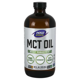 СВТ ОЙЛ масло 946мл НАУ ФУУДС | MCT OIL oil 946ml NOW FOODS