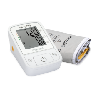 МИКРОЛАЙФ Автоматичен апарат за измерване на кръвно налягане BP A2 Basic   MICROLIFE Automatic blood pressure monitor BP A2 Basic
