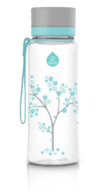 ЕКУА Бутилка без BPA МЕНТОВ ЦВЯТ 600мл | EQUA Eco bottle BPA free MINT BLOSSOM 600ml