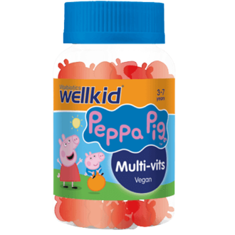 ПЕПА ПИГ Мултивитамини за деца x 30 желирани табл. | PEPPA PIG Multivitamins for kids x 30 gummies