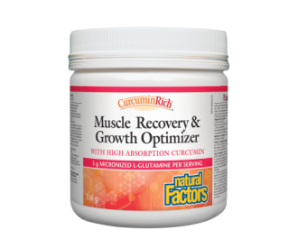 MUSCLE RECOVERY & GROWTH OPTIMIZER 156гр. пудра НАТУРАЛ ФАКТОРС | MUSCLE RECOVERY & GROWTH OPTIMIZER 156g. powder NATURAL FACTORS