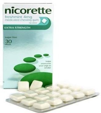 НИКОРЕТ АЙСМИНТ 2мг. лечебна дъвка 30бр. | NICORETTE ICEMINT 2mg medical chewing gum 30s