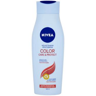 НИВЕА КОЛОР КЕЪР & ПРОТЕКТ Шампоан за боядисана коса 400мл | NIVEA COLOR CARE & PROTECT Care shampoo 400ml