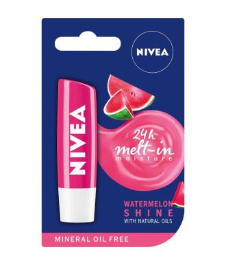 НИВЕА Балсам за устни плодов Диня 4,8гр | NIVEA Lip Balm fruity Watermelon Shine 4.8g