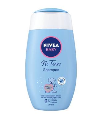 НИВЕА БЕБЕ БЕЗ СЪЛЗИ Нежен шампоан за косa 200мл | NIVEA BABY NO TEARS Shampoo 200ml