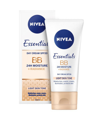 НИВЕА BB крем за лице светъл тон 50мл | NIVEA BB cream 5in1 beautifying moisturizer light 50ml