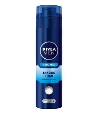 НИВЕА МЕН КУУЛ КИК Пяна за бръснене 200мл | NIVEA MEN COOL KICK Shaving foam 200ml