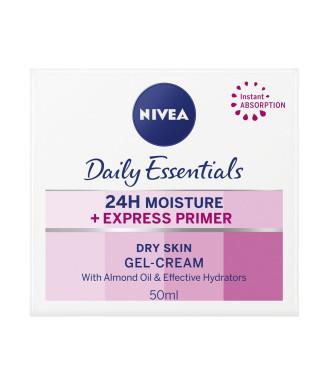 НИВЕА ДЕЙЛИ ЕСЕНШЪЛС Основа за нанасяне на грим 50мл | NIVEA DAILY ESSENTIALS Express primer for dry skin 50ml