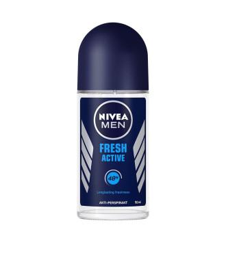 НИВЕА МЕН ФРЕШ АКТИВ Дезодорант рол-он 50мл | NIVEA MEN FRESH ACTIVE Anti-perspirant 50ml