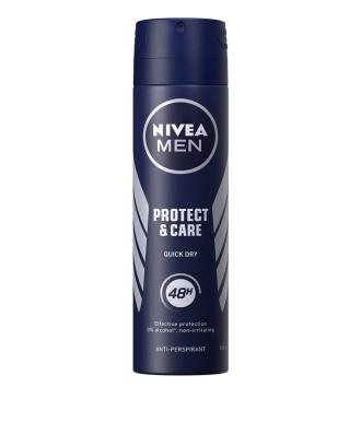 НИВЕА МЕН ПРОТЕКТ & КЕЪР Дезодорант спрей 150мл | NIVEA MEN PROTECT & CARE Anti-perspirant spray 150ml