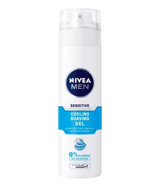 НИВЕА МЕН СЕНЗИТИВ КУУЛ Гел за бръснене 200мл | NIVEA MEN SENSITIVE COOL Shaving gel 200ml