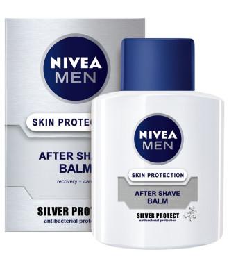 НИВЕА МЕН СИЛВЪР ПРОТЕКТ Балсам за след бръснене 100мл | NIVEA MEN SILVER PROTECT After shave balm 100ml