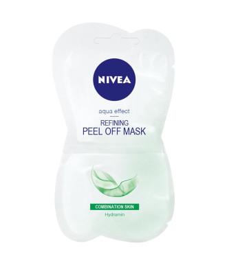 НИВЕА ВИЗАЖ Почистваща пилинг маска за комбинирана кожа 2*7.5мл | NIVEA VISAGE Refining peel of mask for mixed skin 2*7.5ml